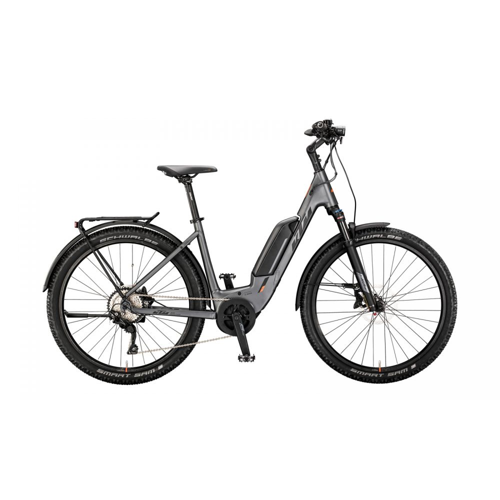 Elektrokolo KTM MACINA SCOUT 272 LFC 500Wh 2020 steelgrey matt (black +orange)