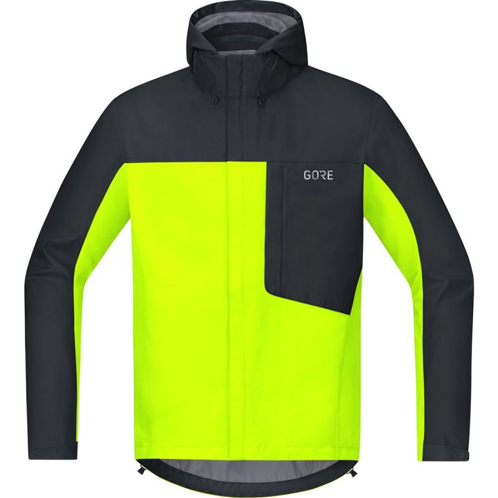 Bunda GORE C3 GTX Paclite Hooded - Neon yellow/black