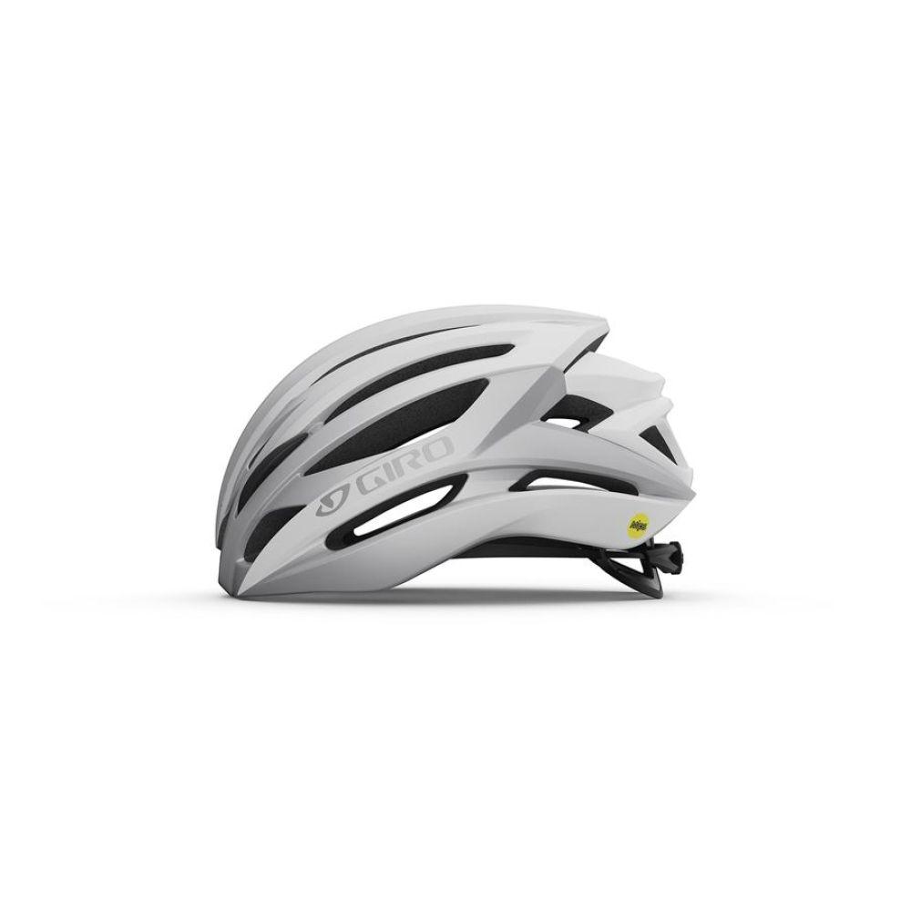 Cyklistická helma GIRO Syntax MIPS Mat White/Silver