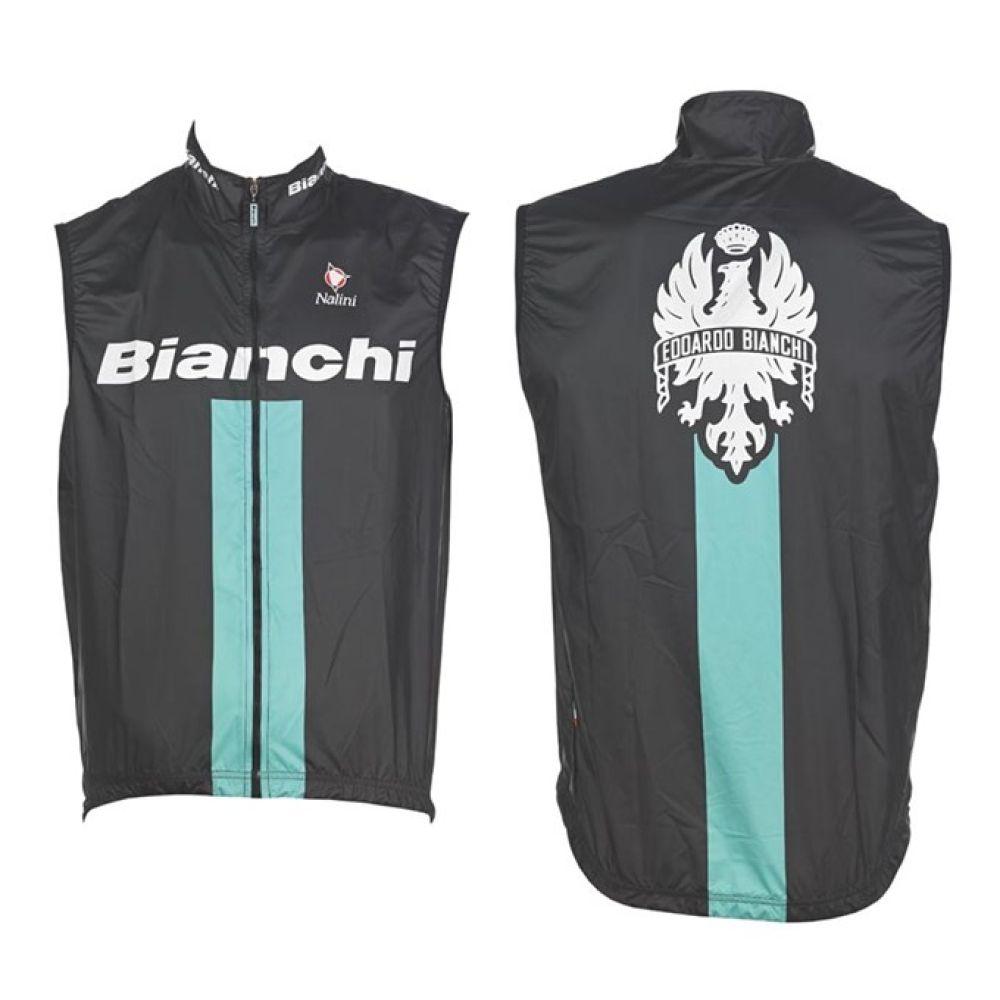 Cyklistická Vesta Bianchi Reparto Corse černá
