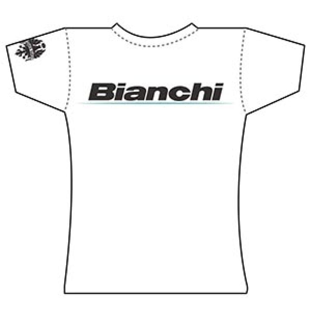 49bfa0d2e701 Damske Tricko White Lady Logo Bianchi