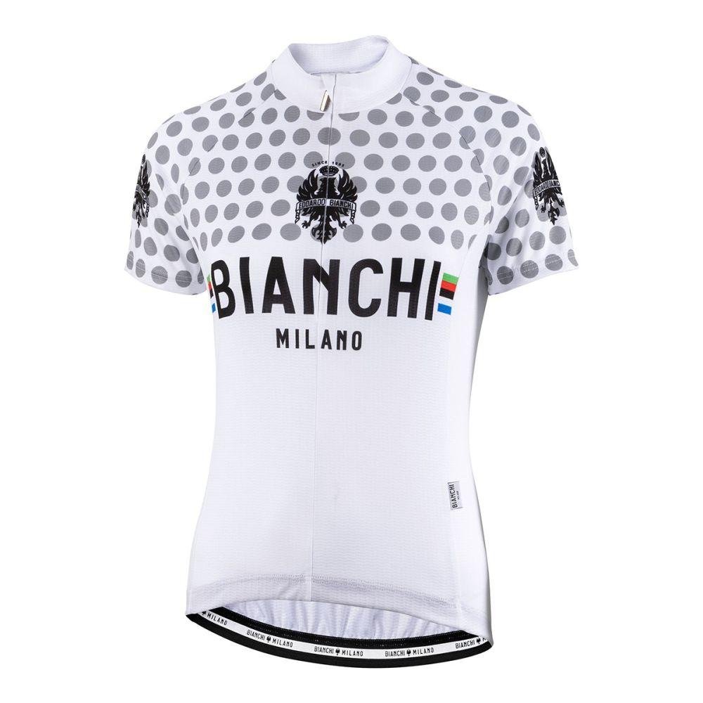 Dámský dres Bianchi Milano CROSIA - bílá 2019
