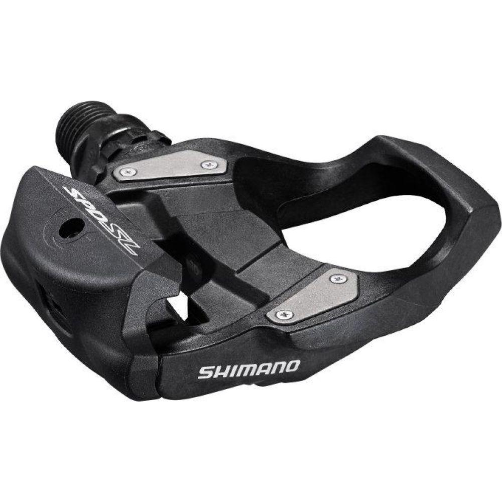 Pedály SHIMANO  PD-RS500 černé + zarážky