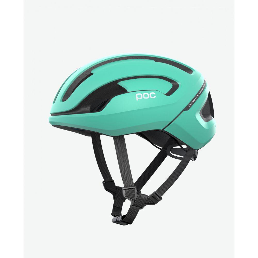 Cyklistická helma POC Omne Air SPIN Fluorite green matt