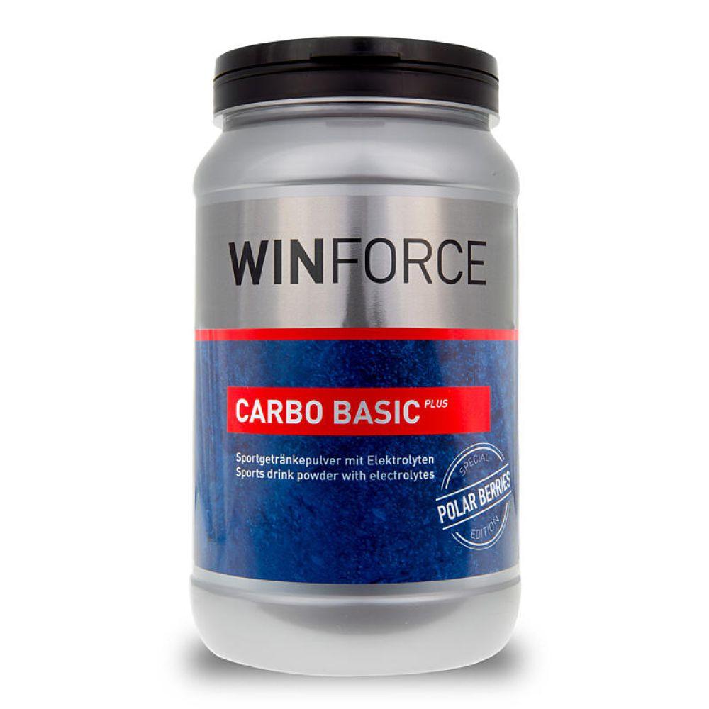 WINFORCE nápoj v prášku Carbo Basic Plus 800g  - Bílá ostužina