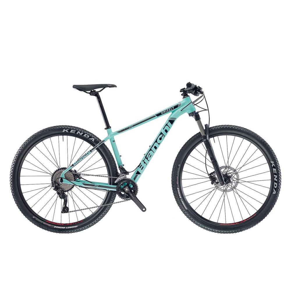 Bianchi Grizzly 29.3 - Deore 2x10sp - 2018 - celeste